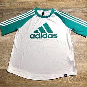 Adidas Tee Size Large 3 Stripes